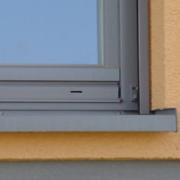 Glafuri (pervaze) de exterior din aluminiu