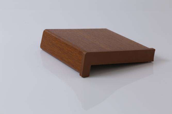 Glafuri (pervaze) de interior din PVC infoliate Stejar Auriu