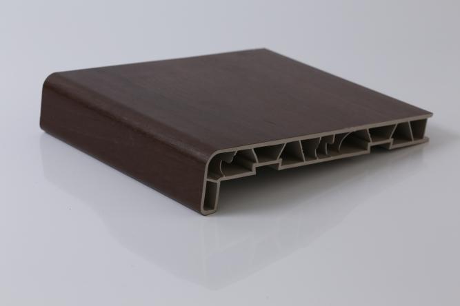 Glafuri (pervaze) de interior din PVC infoliate SIENA NOCE